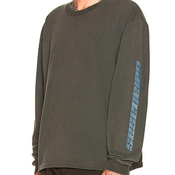 431b4df584e YEEZY Season 6 Calabasas Long Sleeve T Shirt